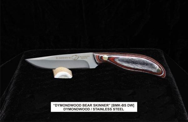 Dymondwood Bear Skinner knife