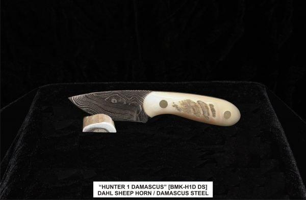 Dahl Sheep Damascus Hunter knife