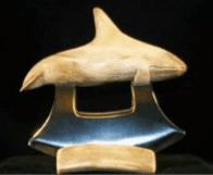 Ulu Caribou Antler Orca